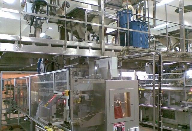 Automat pakujący poziomy do saszetek VOLPAK SP-260 F2 (Podwójna głowica, Trzy dozowniki)