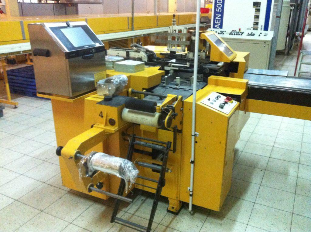 Automat Pakujący do tabliczek czekolady NAGEMA EB1 (2 szt.)