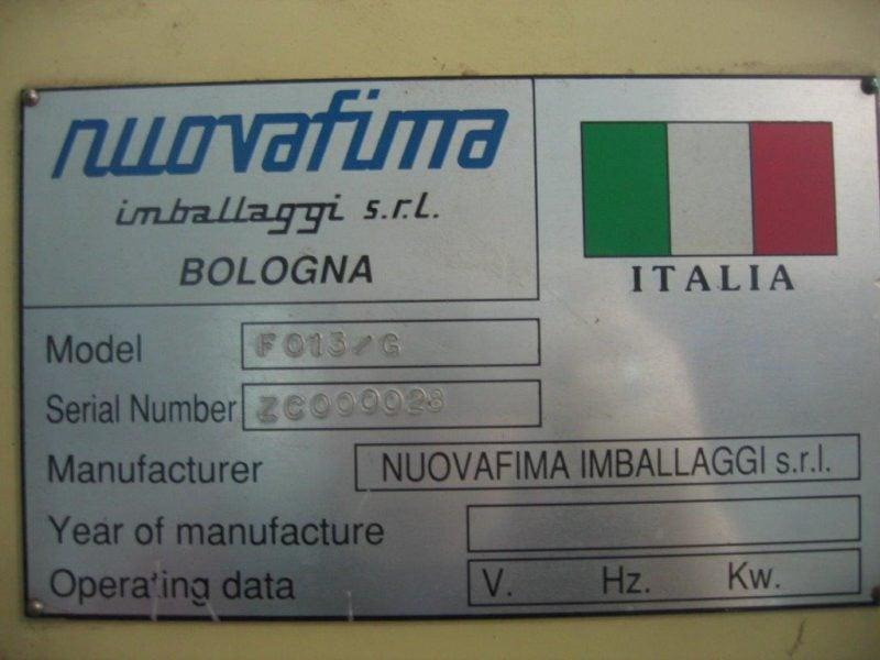 Automat Pakujący Nuovafima Imballagi F013G