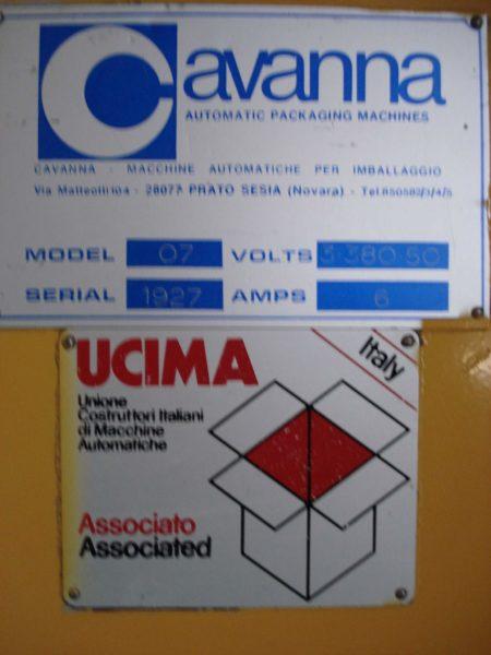 Automat Pakujący poziomy Flowpack Cavanna Model 07