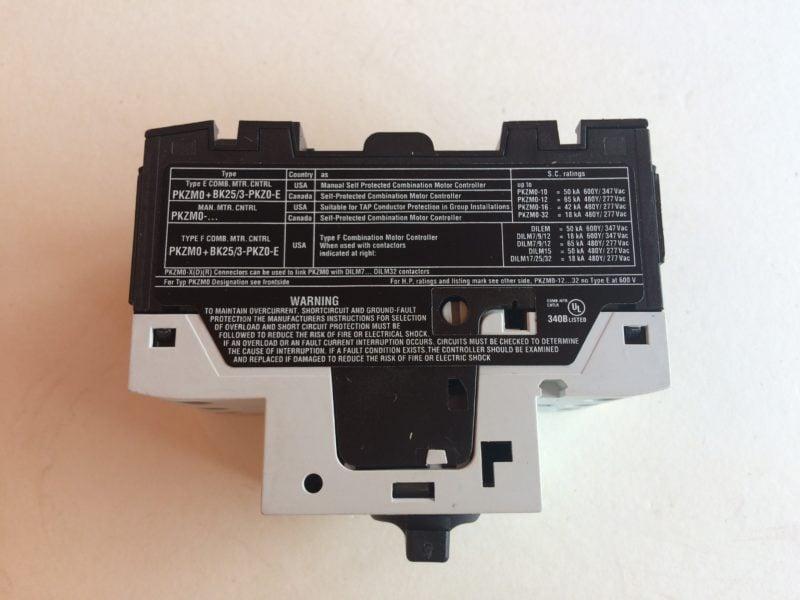 Wyłącznik Silnikowy MOELLER PKZM0-10