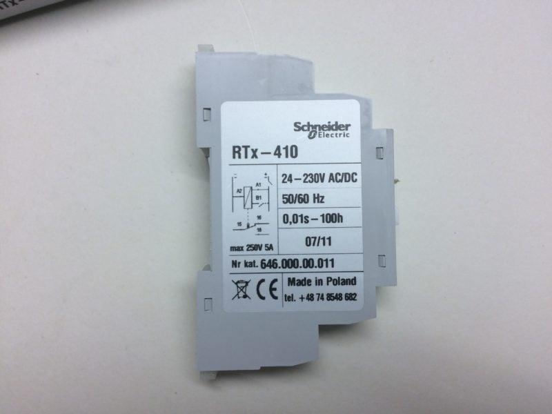 Przekaźnik Czasowy SCHNEIDER ELECTRIC RTx-410