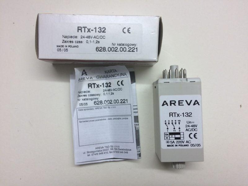 Przekaźnik Czasowy AREVA RTx-132 (0,1s-1,2s)