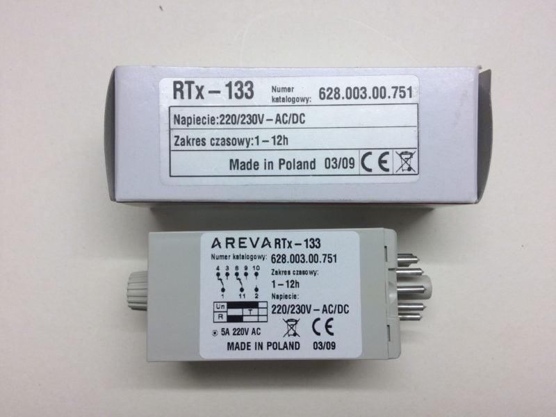 Przekaźnik Czasowy AREVA RTx-133 (1h-12h)