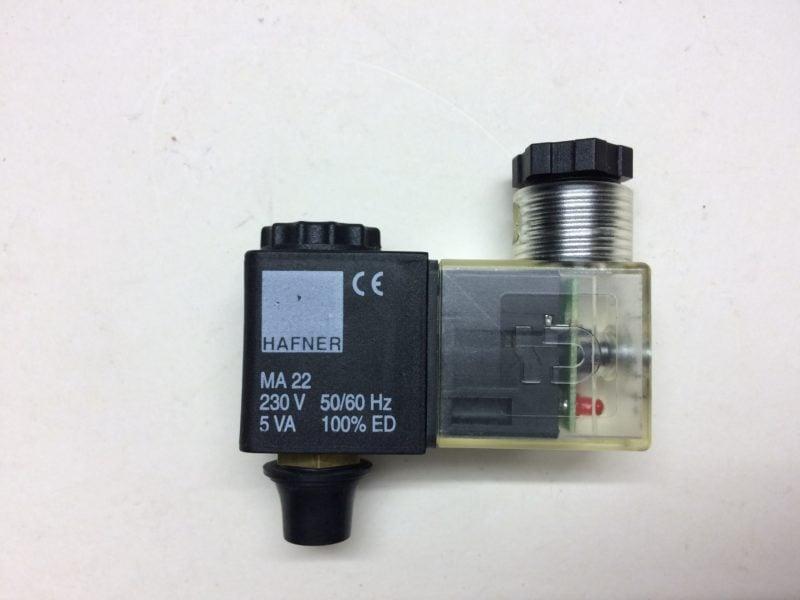 Cewka Elektrozaworu HAFNER MA22, 230V, 5VA (LED)
