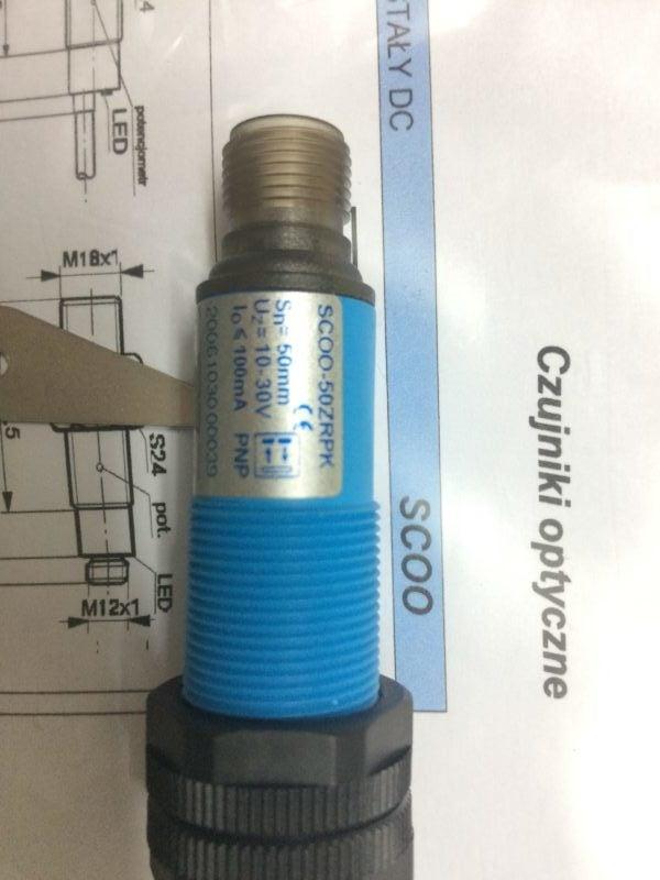 Czujnik Optyczny Odbiciowy SELS SCOO-50ZRPK