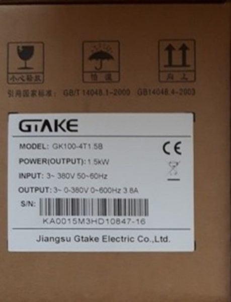 Falownik GTAKE GK100-4T1.5B (Zasilanie 3x400V, Moc 1,5kW)