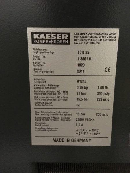 Sprężarka Powietrza KAESER ASK 35