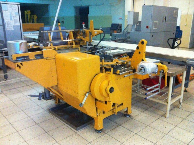Automat pakujący do tabliczek czekolady Loesch LTM-GR