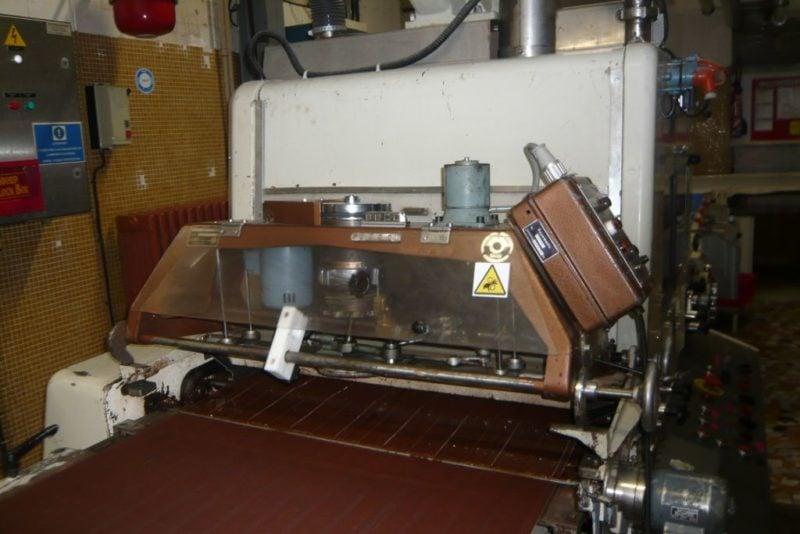 Oblewarka SOLLICH UT 820 z tunelem chłodniczym