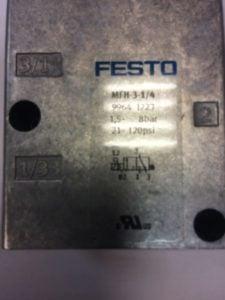 Elektrozawór FESTO MFH-3-1/4