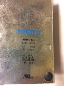 Elektrozawór FESTO MFH-5-1/4