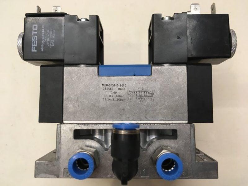 Elektrozawór FESTO MFH-5/3E-D-1-S C (152565)   Płyta VDMA 24345-A-1