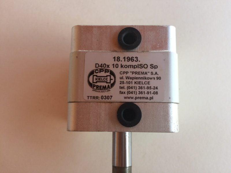 Siłownik PREMA 18.1963 D40x10 ISO