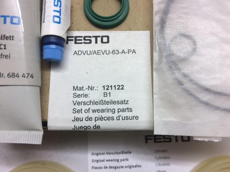 Zestaw Do Regeneracji FESTO ADVU/AEVU-63-A-PA