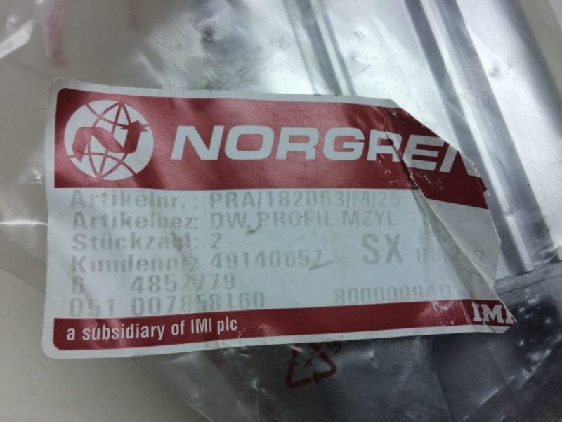 Siłownik NORGREN PRA/182063/M/25