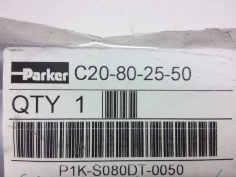 Siłownik PARKER P1K-S080DT-0050 (C20-80-25-50)