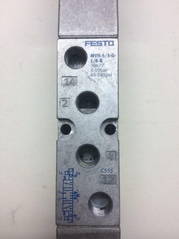 Elektrozawór FESTO MVH-5/3-G-1/8 B