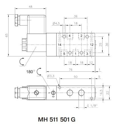 Elektrozawór JOYNER MH 511 501 G
