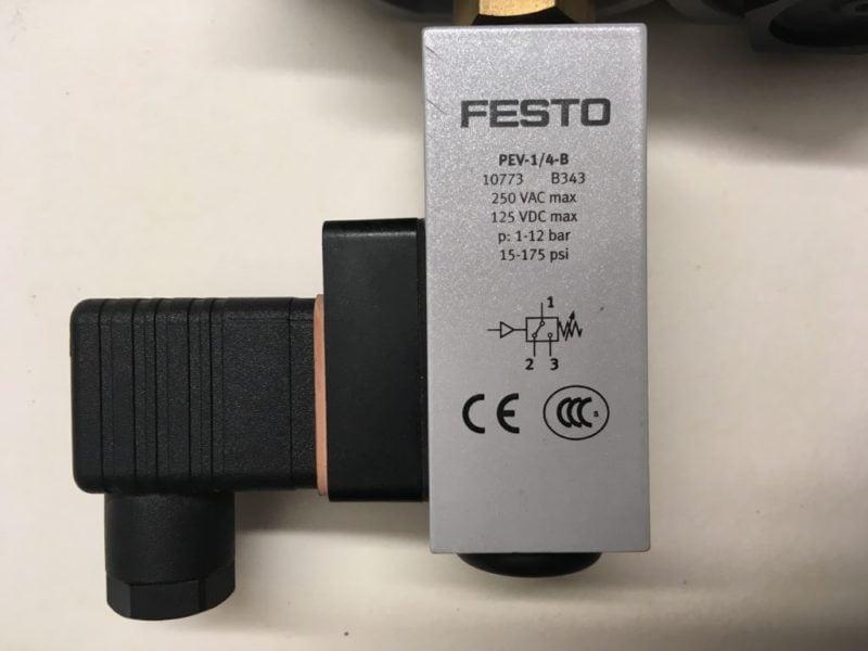 Zespół Przygotowania Powietrza FESTO HE-D-MIDI   LF-D-MIDI   LR-…-D-7-I-MIDI   FRM-…-D-MIDI   PEV-1/4-B