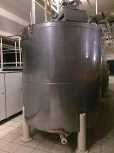 Zbiornik do czekolady - 4000kg