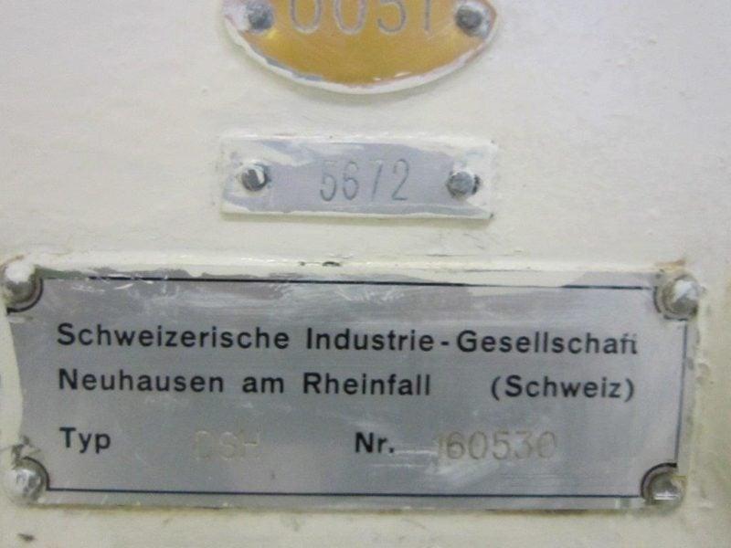 Automat pakujący do tabliczek czekolady SIG DSH (Czekolady Slim)