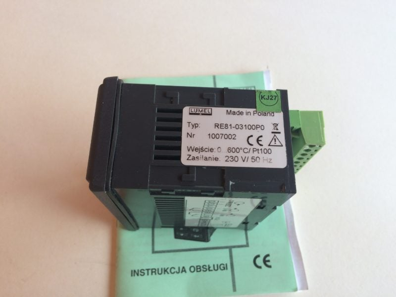 Regulator Temperatury LUMEL RE81-03100P0