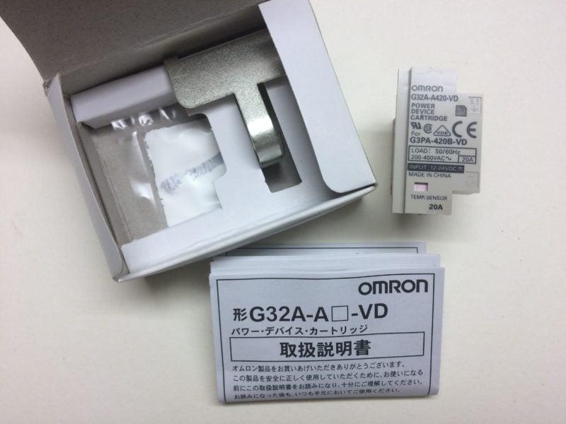 Wkładka Mocy OMRON G32A-A420-VD