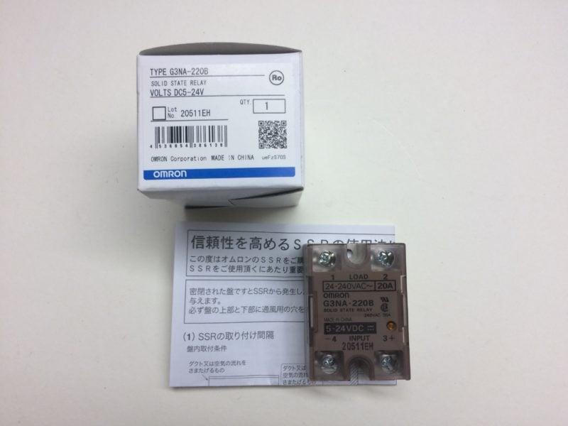 Przekaźnik SSR OMRON G3NA-220B