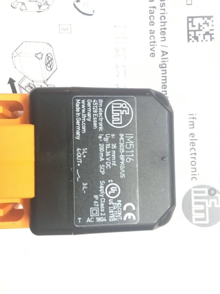 Czujnik indukcyjny IFM IM5116 (IMC3035-BPKG/US-100-DPS)