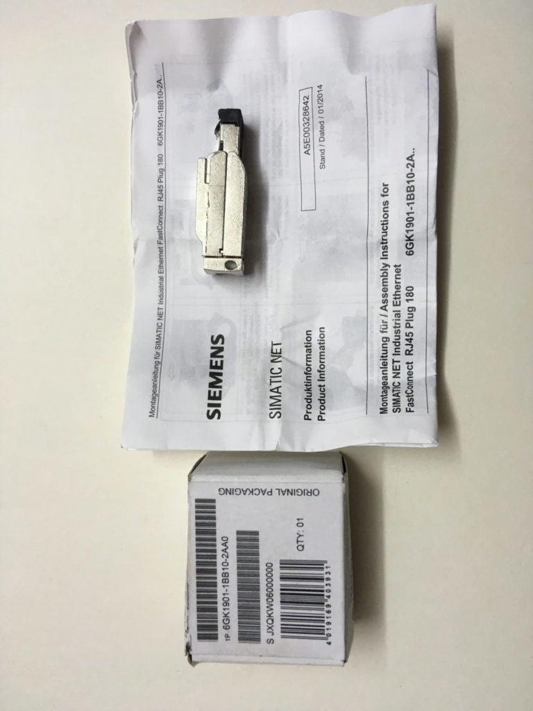 Wtyczka RJ45 Prosta SIEMENS 6GK1901-1BB10-2AA0