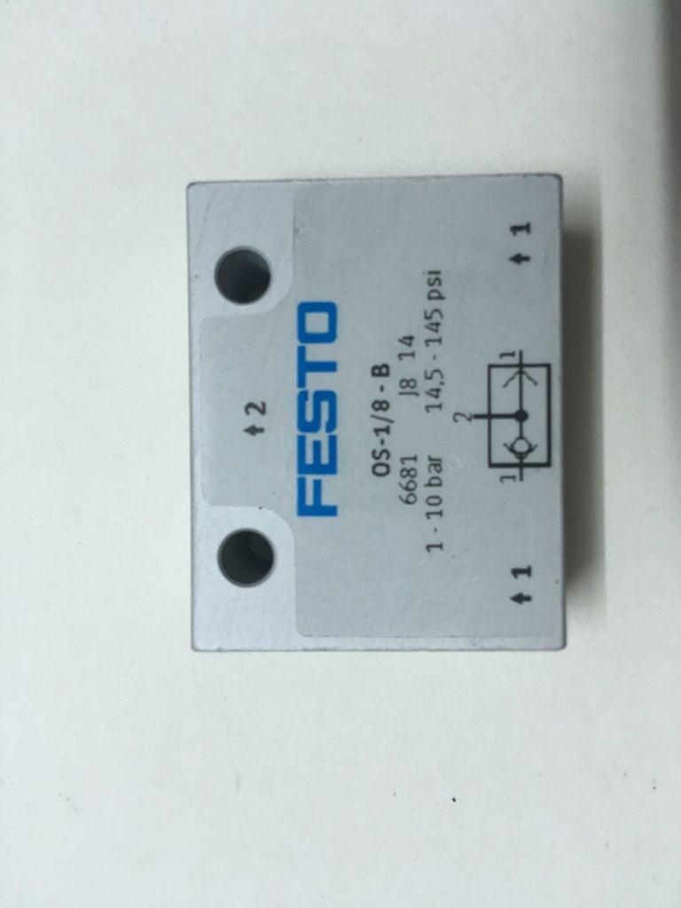 Zawór pneumatyczny FESTO OS-1/8-B (6681)
