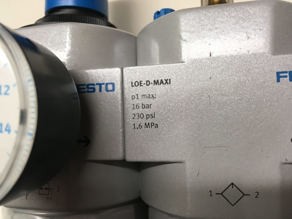 """Zespół Przygotowania Powietrza FESTO LFR-D-MAXI   LOE-D-MAXI (G 1/2"""")"""