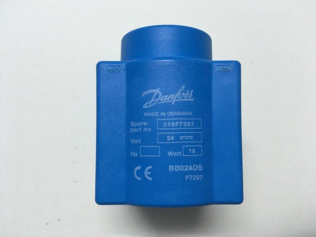 Cewka Elektrozaworu DANFOSS 018F7397 24V 18Watt (BB024DS)
