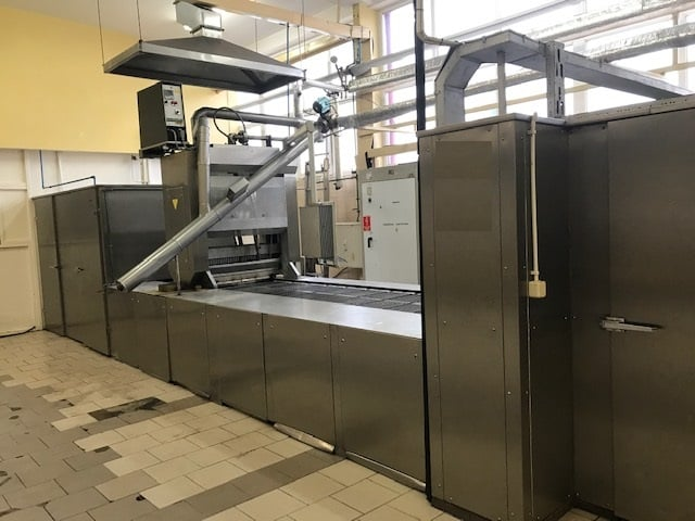 Linia do karmelków twardych Winkler und Dunnebier (500kg/h)  Kuchnia