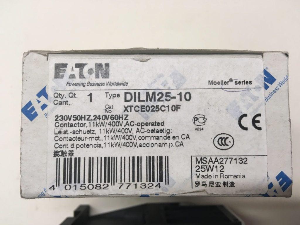 Stycznik Mocy EATON DILM25-10 (XTCE025C10F)