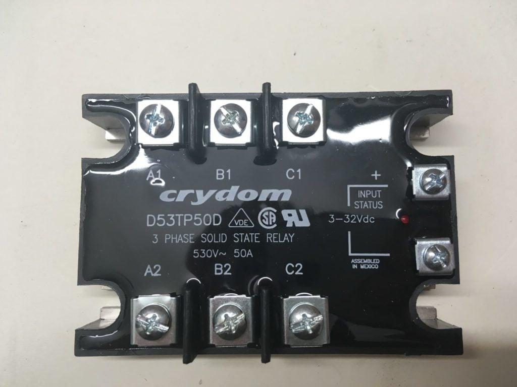 Przekaźnik SSR CRYDOM D53TP50D (530V, 50A) Input:3-32VDC