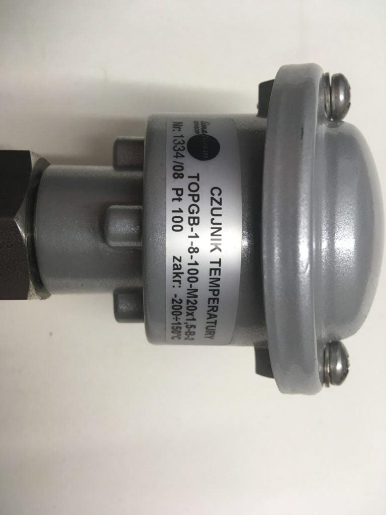 Czujnik temperatury LIMATHERM TOPGB-1-8-100-M20x1,5-B-2  Pt100 (-200..150C)