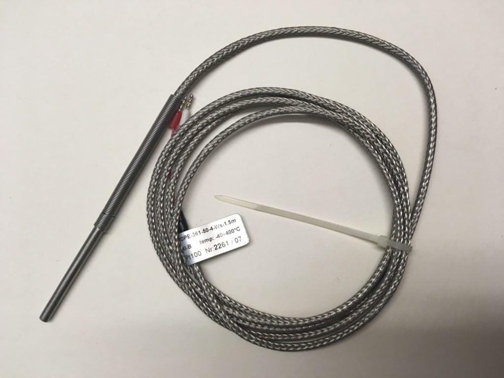 Czujnik Temperatury LIMATHERM TOPE-361-50-4-Ws-1,5m (-40…400C) L=42mm fi=4mm