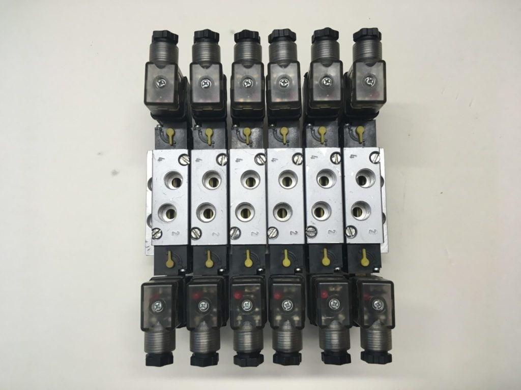 Elektrozawór PREMA KIELCE ZMG 5/2 G1/4 (24V) 22.0701.5214B   Wyspa (Używany)