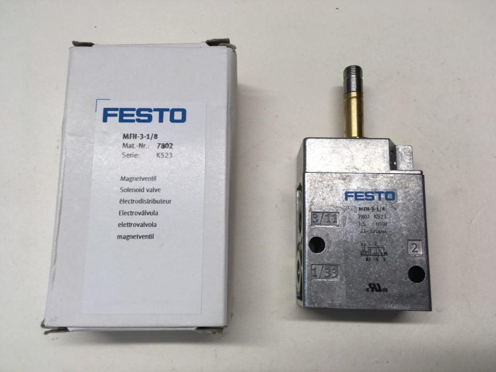 Elektrozawór FESTO MFH-3-1/8 (7802)