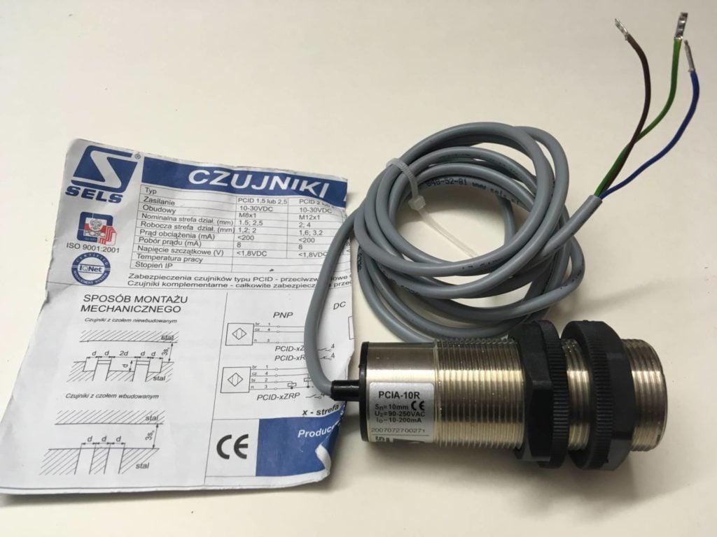 Czujnik indukcyjny SELS PCIA-10R