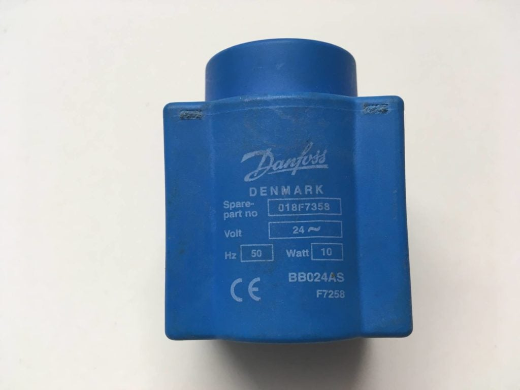 Cewka elektrozaworu DANFOSS 018F7358 (BB024AS) 10W