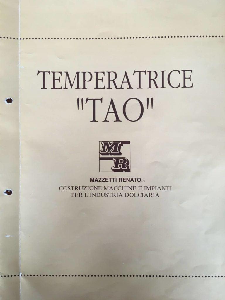 Temperówka do czekolady Renato Mazzetti TAO 500