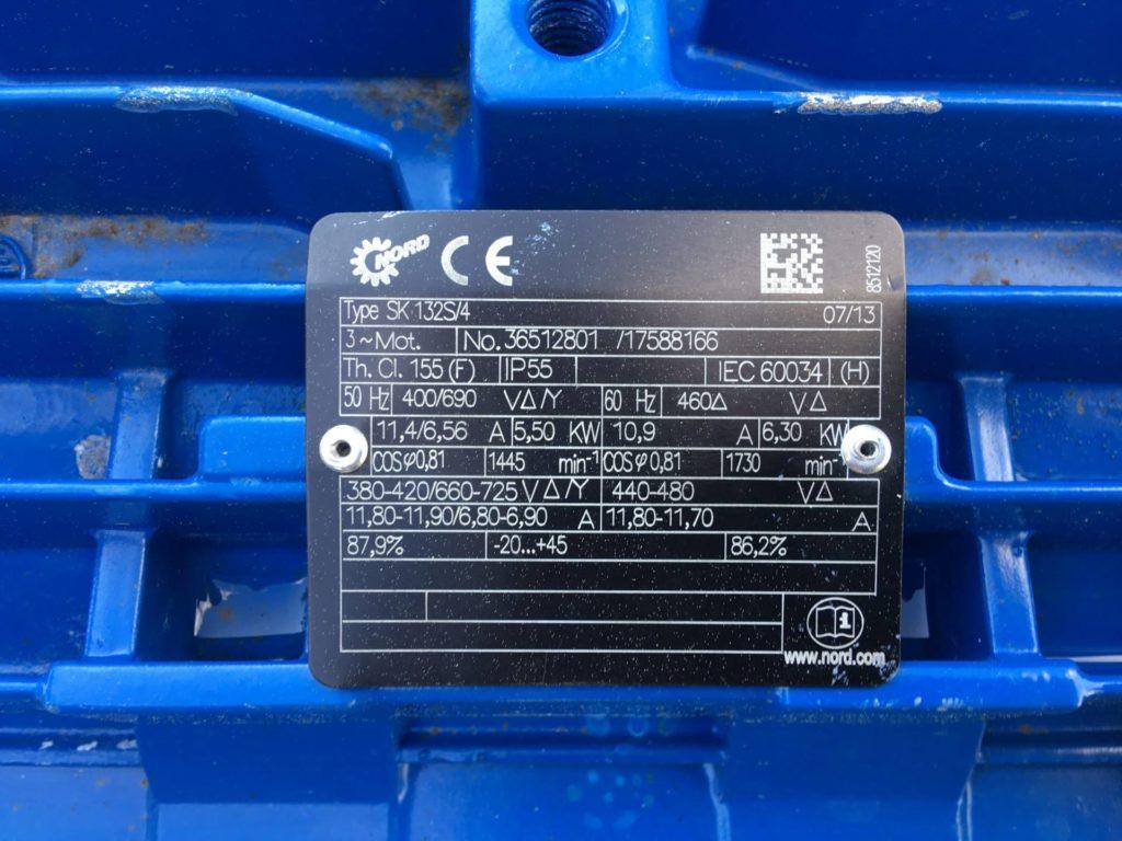 Pompa do czekolady ROTAN DESMI HD 126 ECHD-1M22B