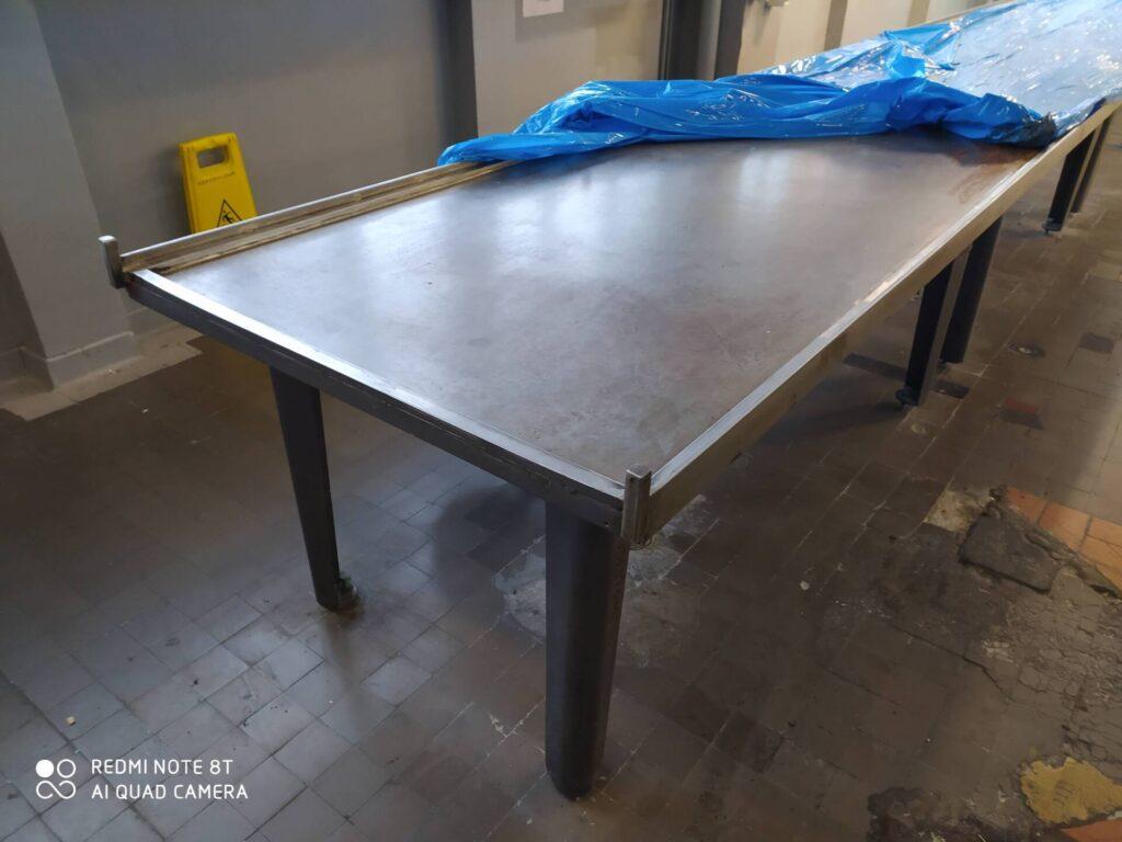Cold tables PEFA Spomasz CUA13 (welded)