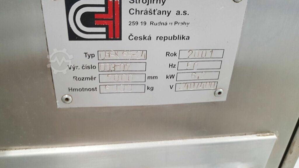 Piec gazowy do kubków do lodów Strojirny Chrastany CHSK 65-24