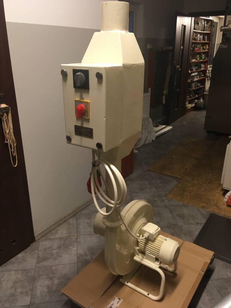 CNA 1 Nawiewnica powietrza do produkcji draży (nawiew powietrza) 480 m3/h