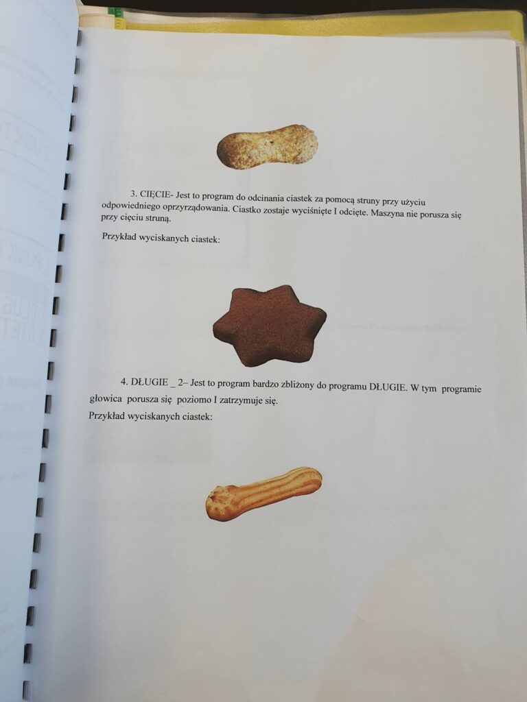 Linia do produkcji słomki ptysiowej i ciastek