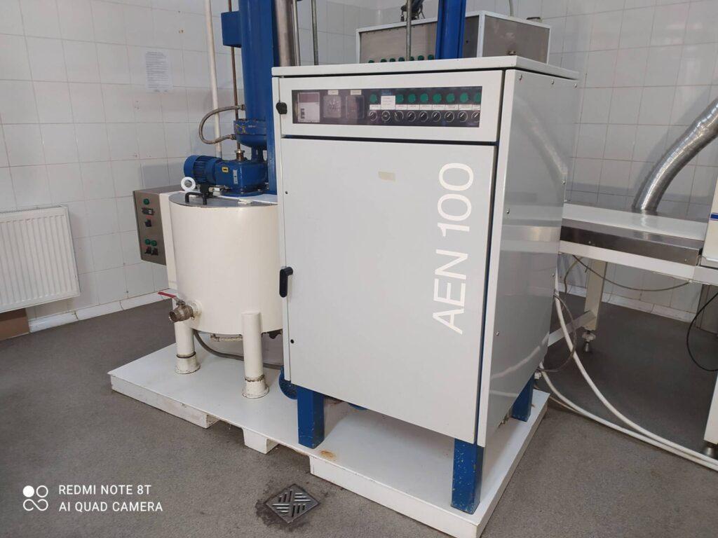 Chocolate temperer Aasted AEN100 (100kg/h)